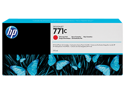 HP 771C Ink Chromatic Red 775ml Designjet Z6200,B6Y08A