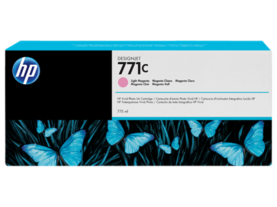 HP 771C Ink Magenta 775-ml Light Designjet Z6200,B6Y11A