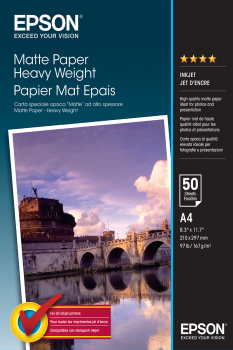 EPSON paper matt heavyweight A3 50sh StylusPhotoEX 1200