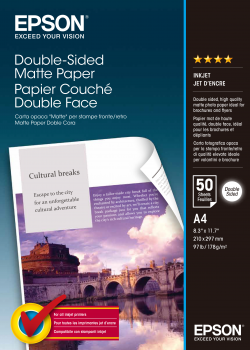 EPSON paper matt double sided A4 Photopaper 50sheet 178g/m