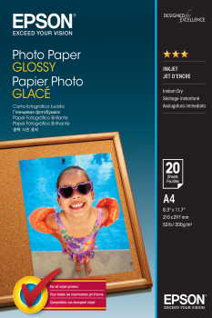 EPSON Photo Paper Glossy A4 20 sheet