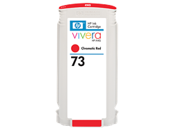HP 73 ink Chromatic Red 130 ml Vivera Designjet Z3200,CD951A