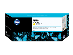 HP 772 ink 300ml yellow DesignJet Z5200PS,CN630A