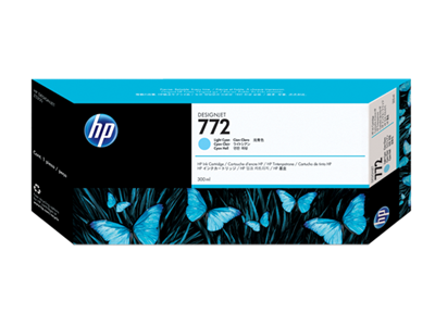 HP 772 ink 300ml light cyan DesignJet Z5200PS,CN632A