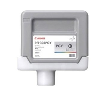 CANON ink tank photo grey PFI-302PGY 330 ml for iPF-8xxx and iPF-9xxx series, 2218B001AA