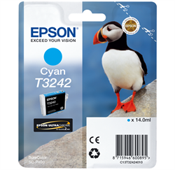 EPSON T3242 Cyan ink cartridge
