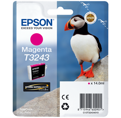 EPSON T3243 Magenta ink cartridge