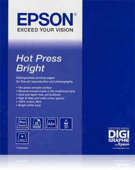 Epson HOT PRESS BRIGHT  432 mm. X 15,2 meter