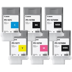 CANON PFI-107 ink cartridge black, 6705B001AA