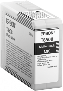 T8508 Matte Black UltraChrome HD ink 80ml, C13T850800